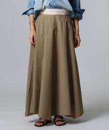 JET(ジェット)の【洗える】イレギュラーヘム コットンロングスカート(スカート)