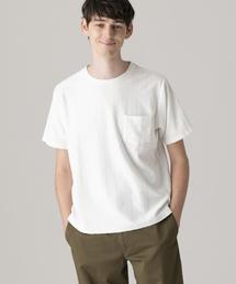 MACKINTOSH PHILOSOPHY(マッキントッシュ フィロソフィー)の【WEB限定】ランダムパイル クルーネックポケT(Tシャツ/カットソー)