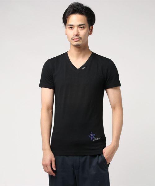 憧れの 【セール】ラインストーンTシャツ(Tシャツ/カットソー)|Stra セール,SALE,Stra Raggio(ストララッジョ)のファッション通販, MTK:0f00dcd2 --- akadmusic.ir