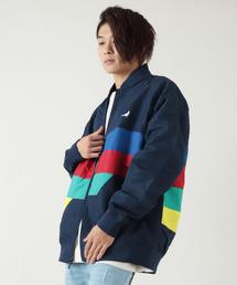 【STAPLE】配色切替 ジャケット ブルゾン(ブルゾン)