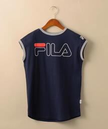 【キッズ】FILA(フィラ)ロゴワンピース