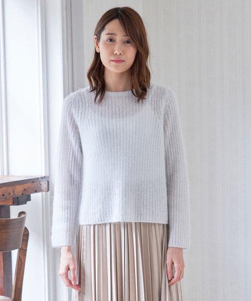 超大特価 シルクラメモヘヤバックV プルオーバー(ニット/セーター)|ANAYI(アナイ)のファッション通販, コンクリートショップ:da14a1bc --- blog.buypower.ng