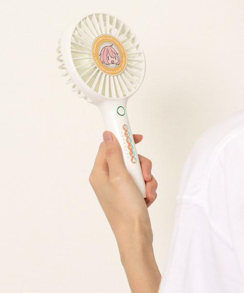 【 ゆるキャン△ 】portable fan ポータブルハンディファン 扇風機 リン・なでしこ ACR