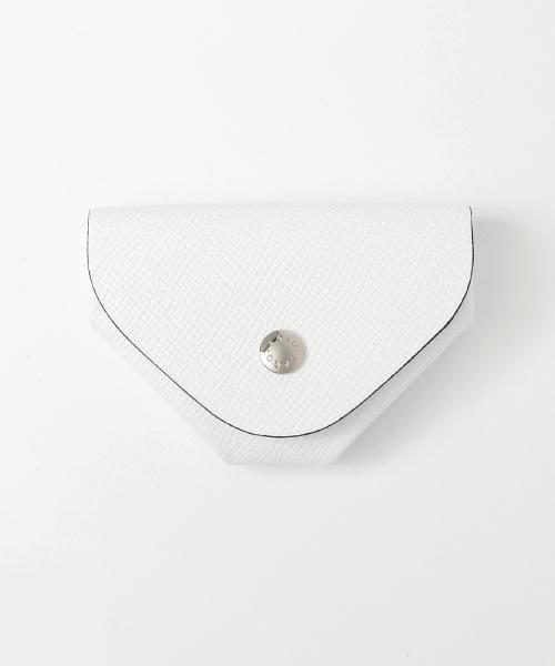 FARO(ファーロ)の「SNAP COIN CASE BOLERO / スナップコインケース ボレロ(財布)」|ホワイト