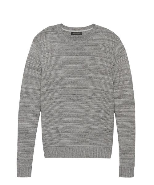 マールコットン クルーネックセーター