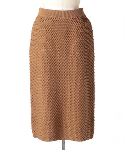 Drawer 5Gコットンドットニットスカート