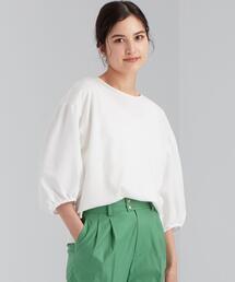 FFC ソデ ボリューム イソザイ コンビ プルオーバー カットソー