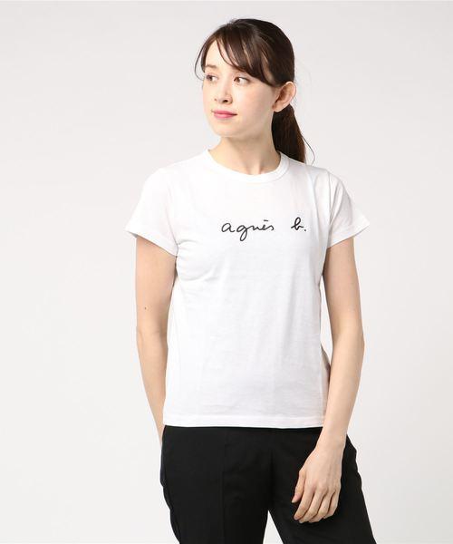 aab1fdb8b8939 agnes b.(アニエスベー)のS137 TS ロゴTシャツ(Tシャツ