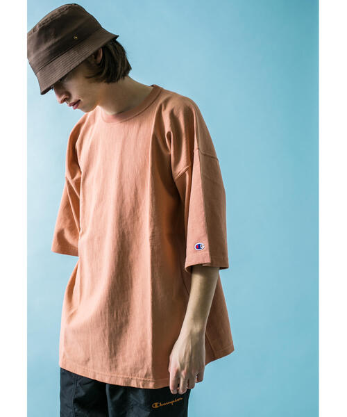 <Champion × monkey time> REVERSE WEAVE TEE/Tシャツ