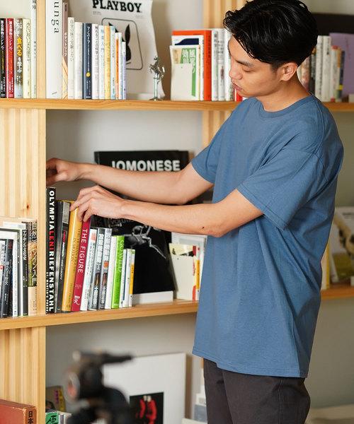 ALORE(アローレ)の「【2枚セット】ヘビーウェイト パックTシャツ 7 DAYS BASIC |ALORE (アローレ)(Tシャツ/カットソー)」|インディゴブルー