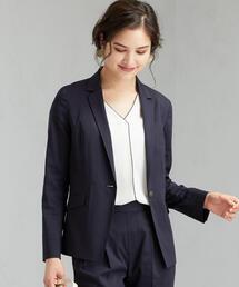 [ポプリン] ◆D シャツ テーラード ジャケット