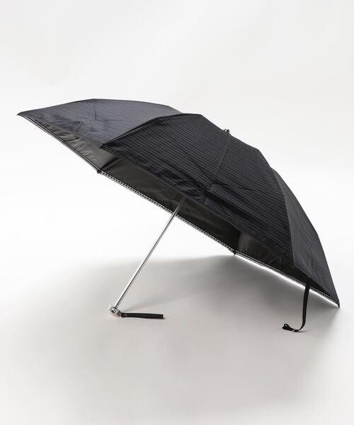 晴雨兼用折りたたみ日傘 ジャガード×レース