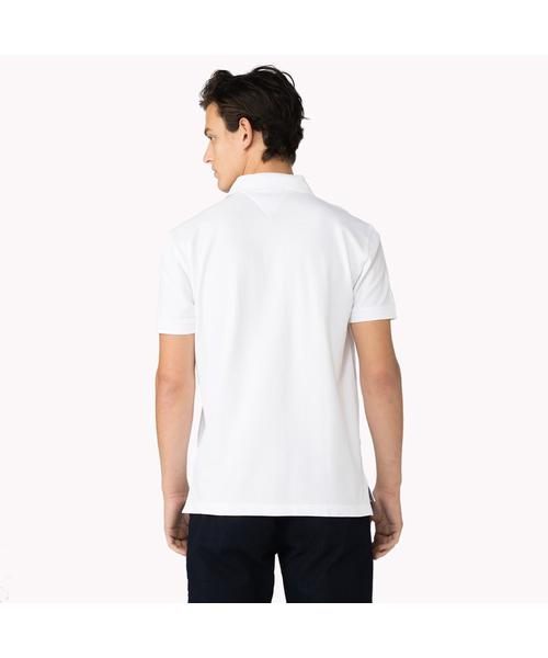 バッジアプリケコットンポロシャツ
