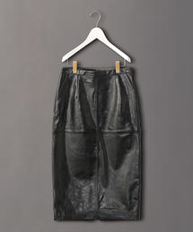 <6(ROKU)>LEATHER TIGHT SKIRT/スカート
