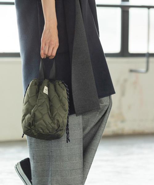 【ムック本掲載】4WAYキルト×ボア巾着トートバッグ(リバーシブル/トートバッグ)