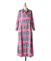〈Jessie Western(ジェシーウエスタン)〉 COTTON SHIRT DRESS