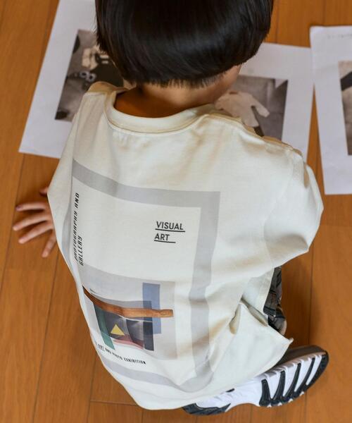 【coen キッズ / ジュニア】UNKNOWNアートバックプリントロングスリーブTシャツ(ロンT/プリントT/長袖)