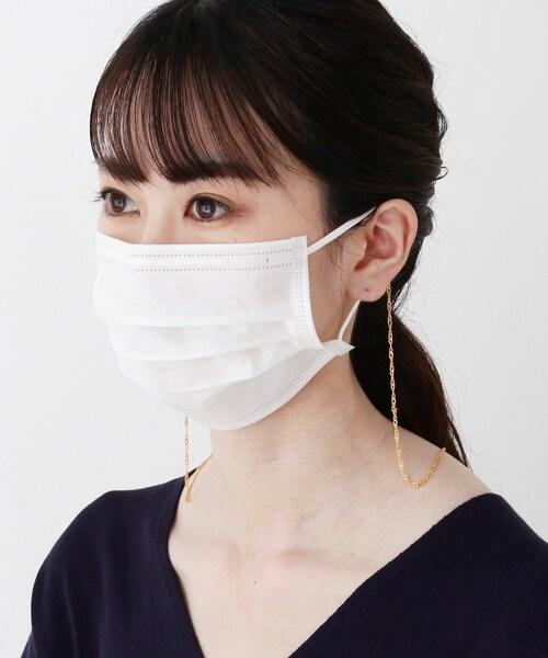 【WEB限定】シルバー ゴールドプレーテッド スクリュー マスク&グラスチェーン