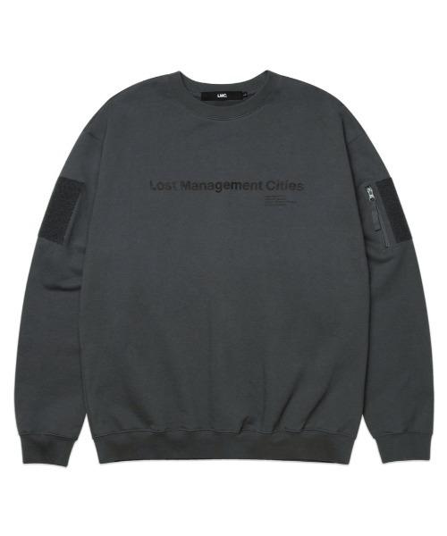 【LMC】FN COMBAT SWEATSHIRT / FN ロゴ ミリタリー コンバット スウェットシャツ