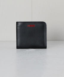 <H>LOGO LEATHER ZIP CASE/ケース