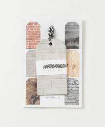 インポートファッション(スパイス アパレル)の「デザインギフトタグ [WRAPPED](ラッピングキット)」