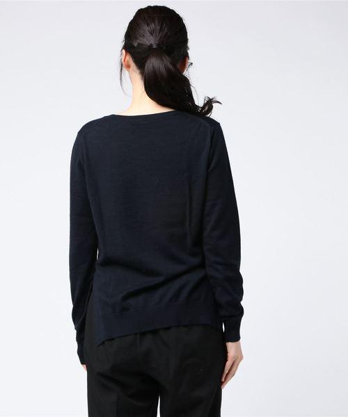 BOND exfine wool u/n pull(ハイゲージUネックニット)
