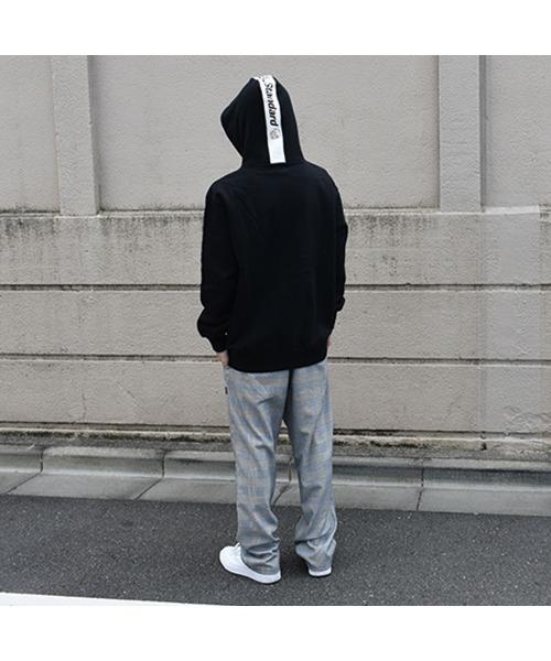 DOUBLE STEAL(ダブルスティール)の「Thin Line Hood 裏起毛 パーカー(パーカー)」|詳細画像