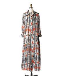 〈Jessie Western(ジェシーウエスタン)〉 HABOTAI SHIRT DRESS