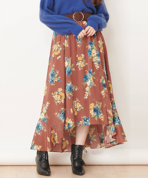 【CanCam掲載】モネブーケスカート