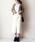 AZUL ENCANTO(アズールエンカント)の「【洗濯機で洗える】【消臭効果】パッチポケットIラインスカート(スカート)」|アイボリー