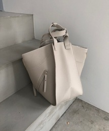 【chuclla】3way trapezoid shoulder bag cha80グレイッシュベージュ
