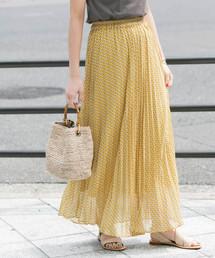 URBAN RESEARCH ROSSO WOMEN(アーバンリサーチ ロッソ)のジオメトリックプリーツスカート(スカート)