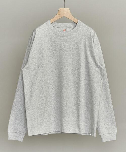 【別注】 <Hanes(ヘインズ)> BEEFY-T LONG SLEEVE TEE/ビーフィー