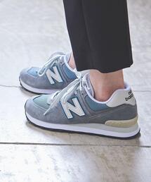 【WOMEN'S】<New Balance(ニューバランス)>ML574 スニーカー ■■■