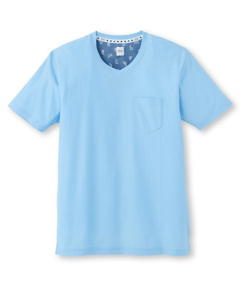 ミニヘリンボンTシャツ [ 吸汗速乾 メンズ Tシャツ ]