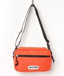 【OUTDOOR PRODUCTS】 横型ミニショルダーオレンジ