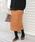 URBAN RESEARCH Sonny Label(アーバンリサーチサニーレーベル)の「ミラノリブニットタイトスカート(スカート)」|キャメル