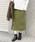 URBAN RESEARCH Sonny Label(アーバンリサーチサニーレーベル)の「ミラノリブニットタイトスカート(スカート)」|オリーブ