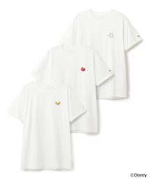 Disney(ディズニー)のONIETA / DISNEY 3枚組クルーネックパックTシャツ《ESTNATION EXCLUSIVE》(Tシャツ/カットソー)