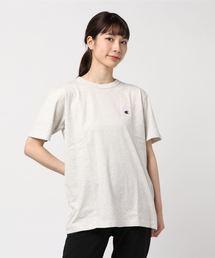 Champion(チャンピオン)の【Champion別注】ロゴ刺繍T-shirt(Tシャツ/カットソー)
