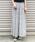 AZUL ENCANTO(アズールエンカント)の「【手洗いできる】【消臭効果】プリント柄ランダムプリーツフレアスカート(スカート)」|ホワイト