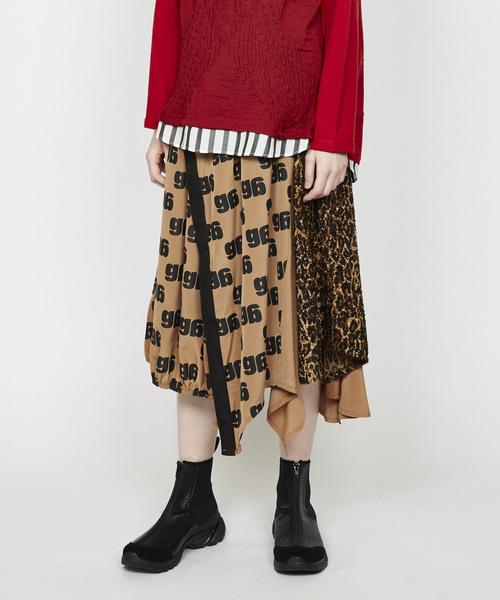 正規品販売! gモノグラムP ランダム切替スカート(スカート)|gomme(ゴム)のファッション通販, エンターキングオンライン:931650f6 --- wm2018-infos.de