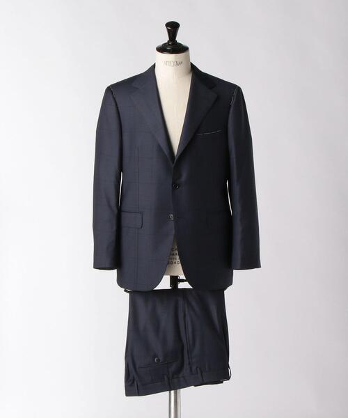 <SOVEREIGN(ソブリン)> シャドウ チェック 3B スーツ