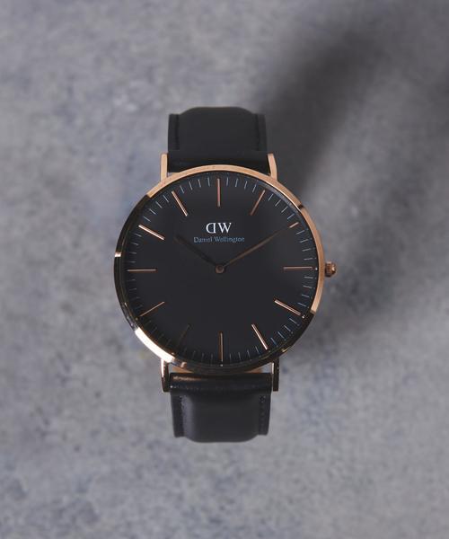 f8e184db6a 商品詳細 - <Daniel Wellington>BLACK MODEL Sheffield 40MM 腕時計 ...