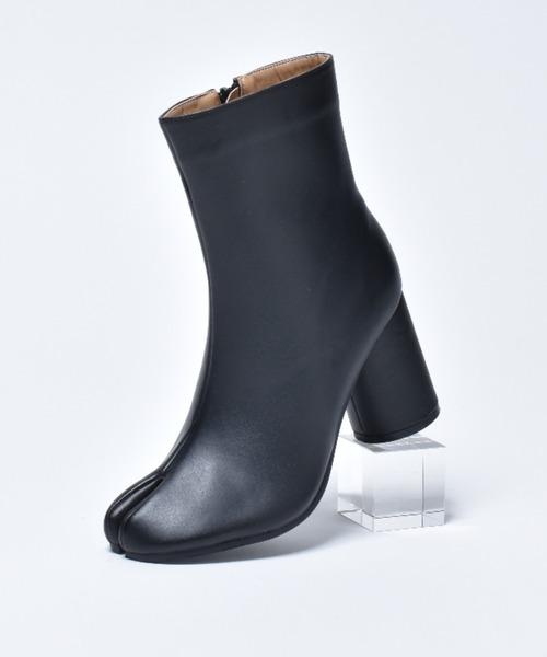 SVEC(シュベック)の「Tabi Boots / タビ ブーツ 足袋ブーツ / SVEC シュベック(ブーツ)」|ブラック