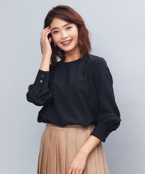 魅了 《新色アイボリー入荷》ノーカラーパフブラウス(シャツ/ブラウス)|qualite(カリテ)のファッション通販, CLOTHES UNIT:362d51d9 --- fahrservice-fischer.de