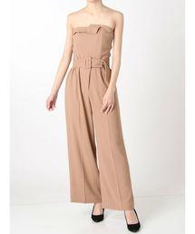 LAGUNAMOON(ラグナムーン)のLADY collarベアパンツドレス(ドレス)