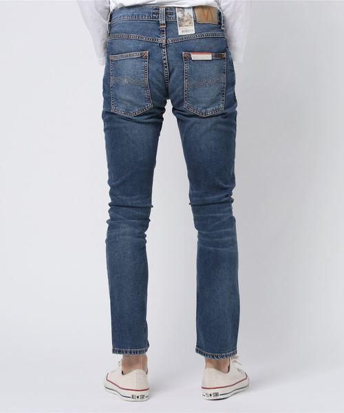 Nudie Jeans(ヌーディージーンズ)の「Grim Tim / Mid Blue Indigo(デニムパンツ)」|詳細画像