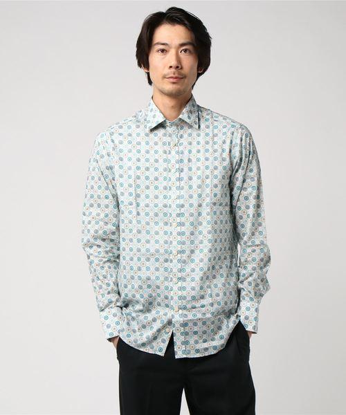 最新 【セール】Simon Carter リバティデヴィンテージタイルシャツ(シャツ/ブラウス)|SIMON CARTER(サイモンカーター)のファッション通販, 大分郡:96d8024b --- wm2018-infos.de