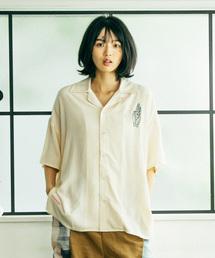 STOF(ストフ)の2020春夏 SHANTIボーリングシャツ(シャツ/ブラウス)